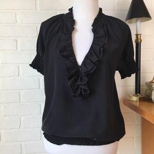Joie silk blouse M